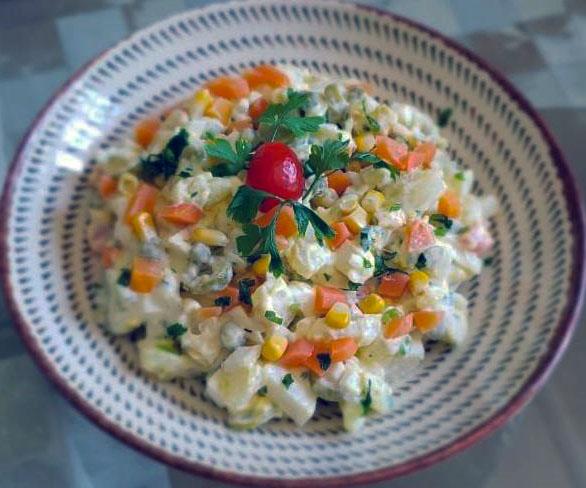 brazilian mayonnaise potato salad